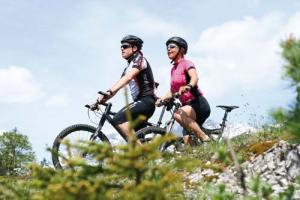 Mountain biking where you can enjoy plenty of cycling tours in all difficulty levels